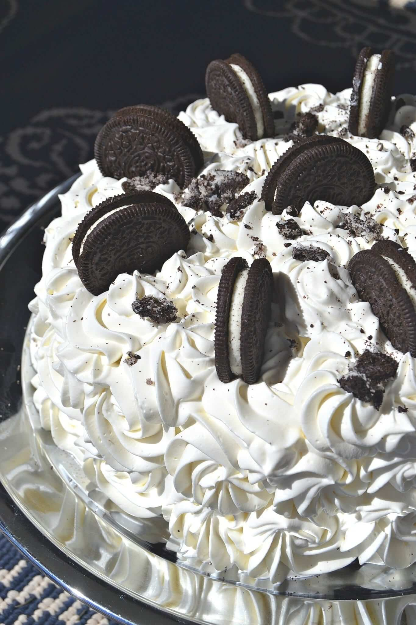 Oreo Ice Cream Cake Recipe Lou Lou Girls