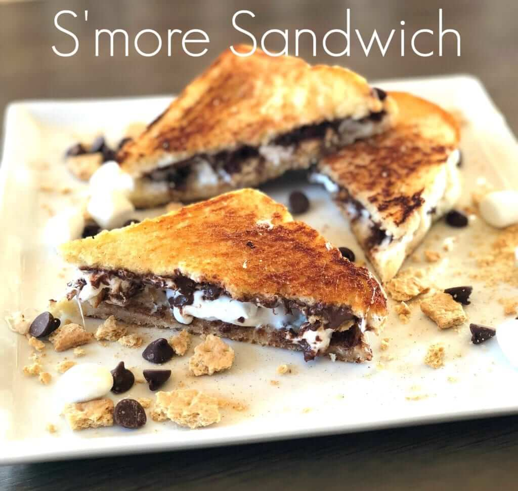 Grilled S'more Sandwich