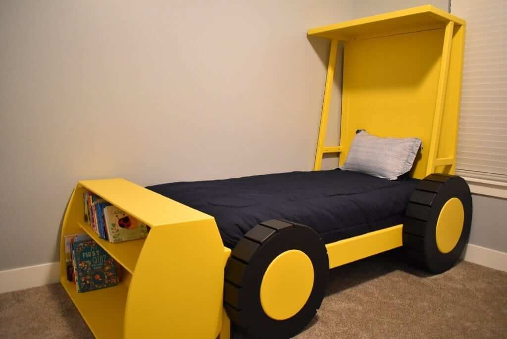 Homemade Tractor Bed